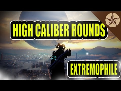 High Caliber Round Extremophile: HCR Is The Difference