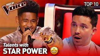 Talents showing real STAR POWER on The Voice | Top 10