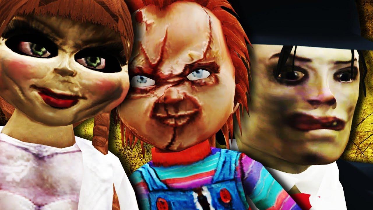 GTA V PC - Annabelle, Mod Tubarão, Chucky, Rusbé e Mais (MODS)