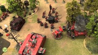 Chaos vs Blood Angels Warhammer 40k Battle Report - Banter Batrep Ep 50