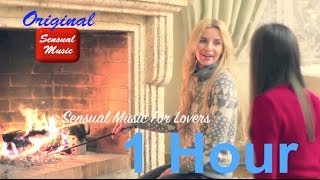 Fireplace with sexy music videos & sensual music instrumental for making love  (Fireplace Burning)