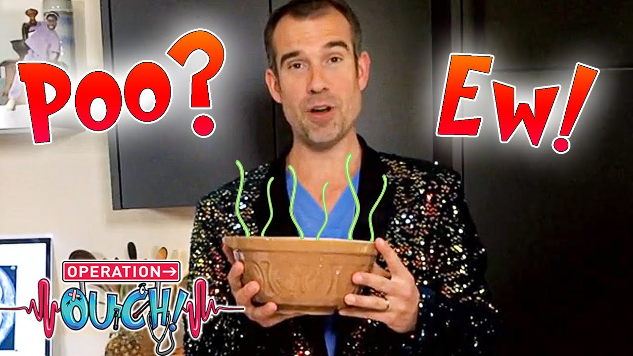 The Poo Game Show!? 💩  | Science for Kids | Full Episodes | Operation Ouch