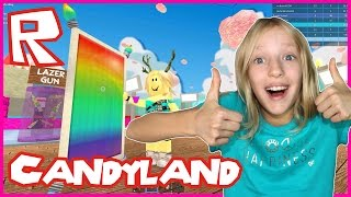 Candyland in Candy WAR Tycoon Roblox