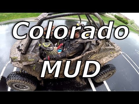 Colorado mud rip, trailer carnage, finally home...