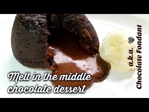 The BEST Chocolate Lava Cake