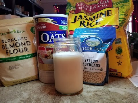 How to make Oat Milk (or Soy, Almond, Coconut or Rice Milk)