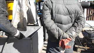 Показ работы переработка отходов часть 1