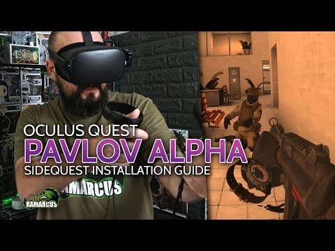 Oculus Quest // Play Pavlov VR Now, Install With SideQuest / Join Multiplayer Livestream