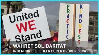 Wahret Solidarität, indem Ihr die Fehler Eurer Brüder deckt! 2/2 | Stimme des Kalifen