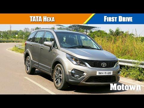 Tata Hexa First Drive   Motown India