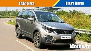 Tata Hexa First Drive