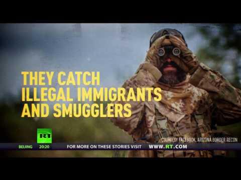 Arizona Border Recon: Volunteers patrol US-Mexican border to catch migrants & smugglers