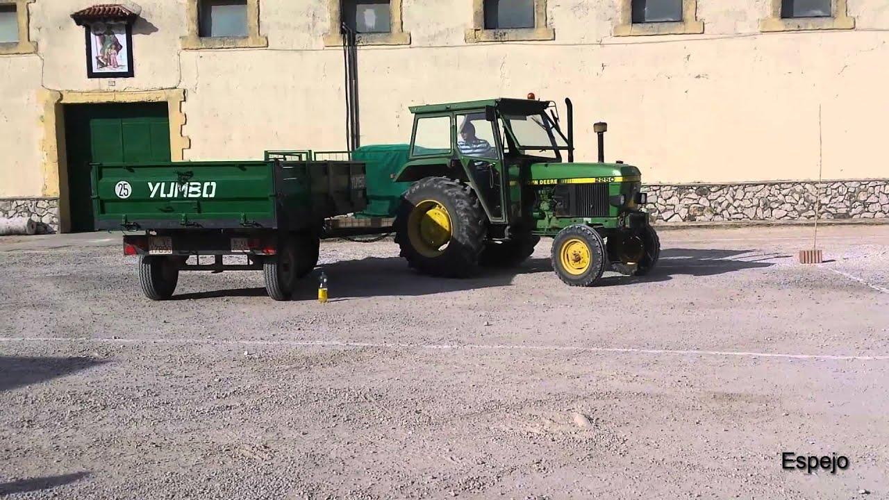 Tractor el/éctrico para ni/ños con Remolque 22W 3km//h