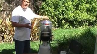 MultiKai Cooker - Hangi Cooking Demonstration