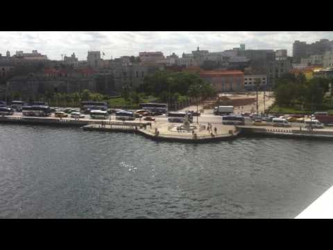 Cuba Havana. Port Sierra Maestra.