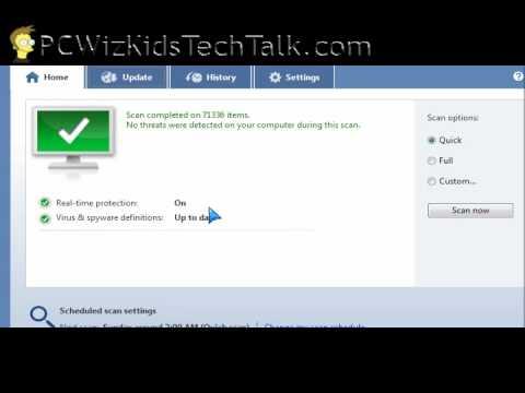 Microsoft Security Essentials - Free Anti Virus