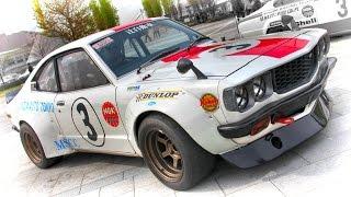【動画1000本目!】MAZDA RX-3 サバンナ 1974年 富士スーパーツーリング...