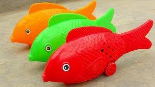 Cá chép, con voi, gấu trúc, chó, báo đốm, gà trống - đồ chơi trẻ em FMC G446B