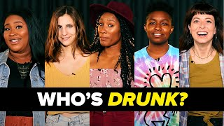 Which Of These People Is Secretly Drunk? • Part 1