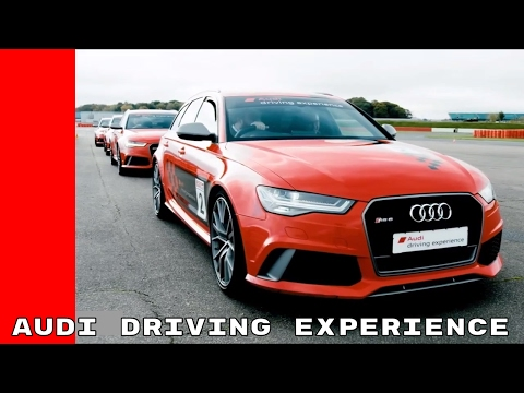 Audi Driving Experience With RS3, RS6, R8 V10 Plus