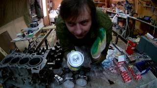 Ремонт двигателя Honda D15B. Глава 3: Сборка двигателя