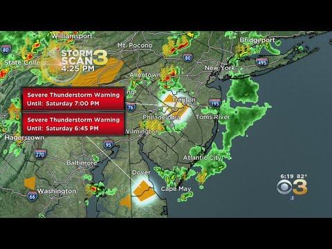 Philadelphia Weather: Breaking Down Tornado, Severe