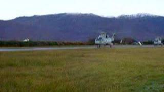 EH101 Merlin helicopter Plockton