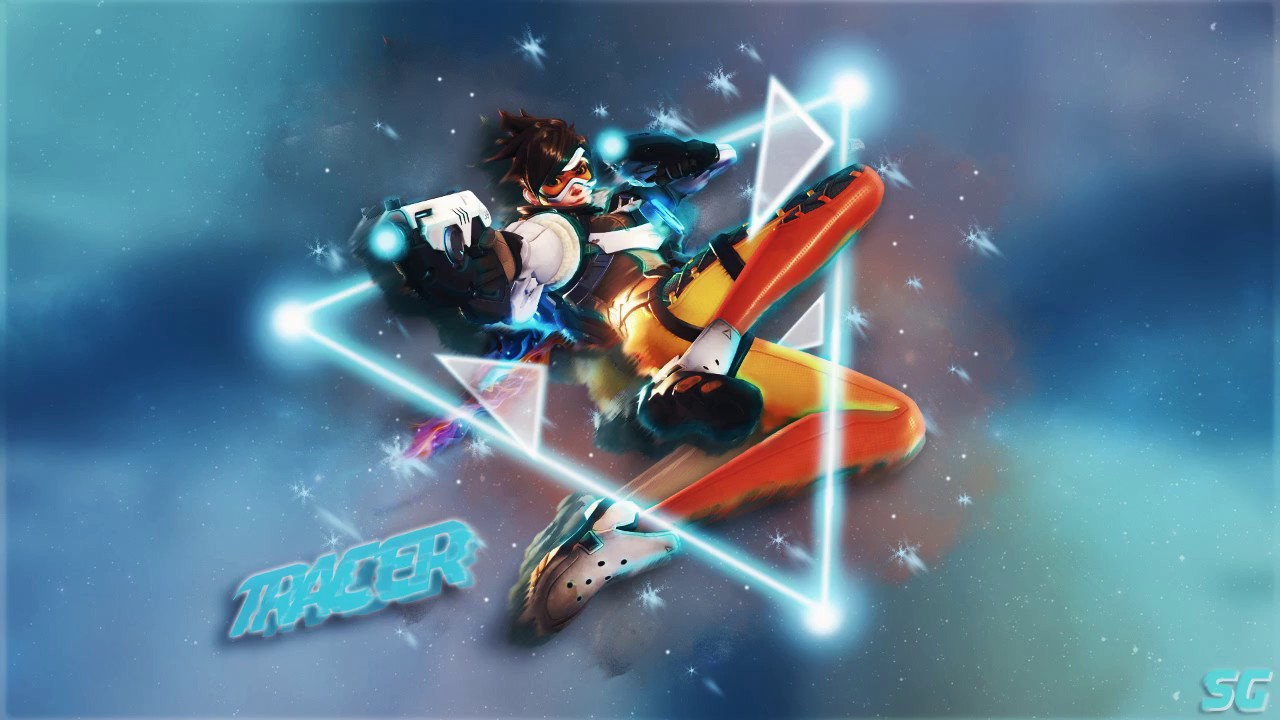 4 Speed Wallpaper Tracer Overwatch Youtube