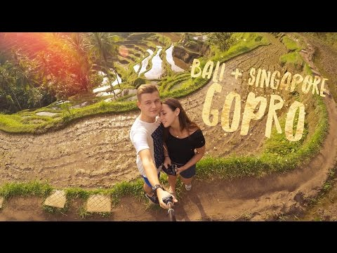 Singapore and Bali Vacation GoPro