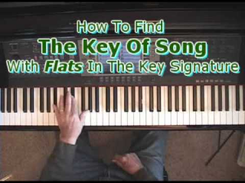 How To Find The Key Of A Song When There Are Flats In The Key Signature