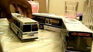 Model MTA NYCT Busses.