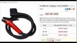Воздушный Строжка факел(Воздушный Строжка факел. Узнать цены и подробности на http://www.borte.com.cn/weldingcutting.php?id=124 Импорт и оптовая торговля..., 2013-12-07T10:48:41.000Z)