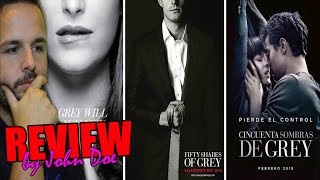 50 sombras de Grey (2015) - CRÍTICA +18 - REVIEW - HD - Shades - Dakota Johnson