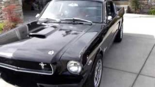 1965 Mustang Fastback Burn Out!!!!