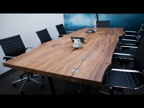 Creating a Live Edge Table with Shaper Origin