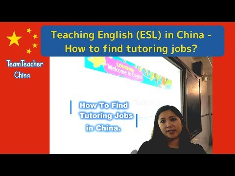How to Find Private Tutoring Jobs in China