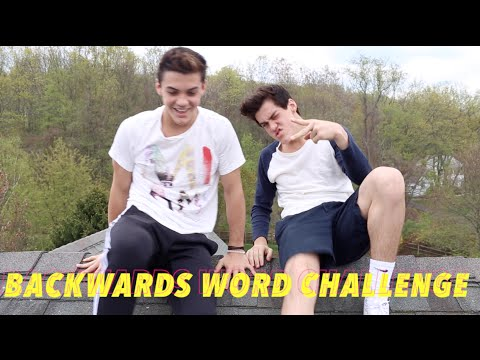 BACKWARDS WORD CHALLENGE