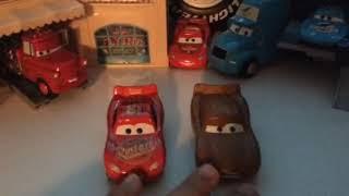 Disney cars 3 lightning McQueen diecast review