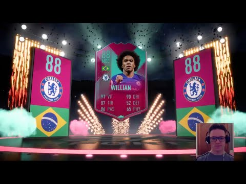FIFA 19 - LIVE DCE WILLIAN 88 BIRTHDAY PACK OPENING