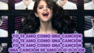 Selena Gomez - Love you like a love song (Spanish Cover)