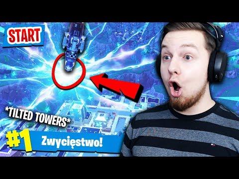 🔥 RAKIETA *WYSTARTOWAŁA* W TRAKCIE GRY! CEL = TILTED TOWERS?! | Fortnite (Battle Royale)