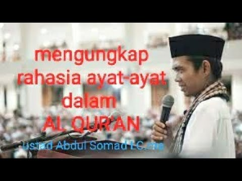 Rahasia Arti Kata Yasin,Alif Lam Mim Dalam AL Qur'an -ust.abdul Somad Lc.ma
