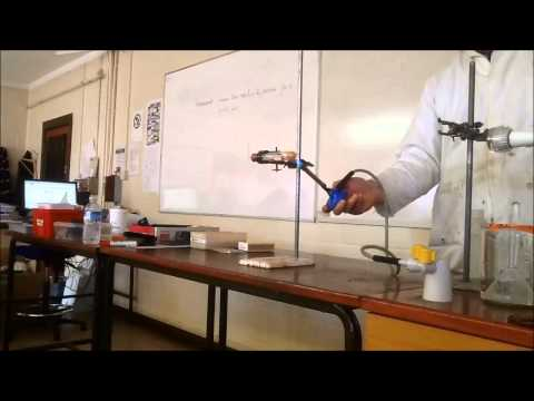 Magnesium Reacting With Steam
