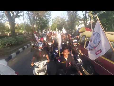 Konvoi setelah launching 234 SC Medan