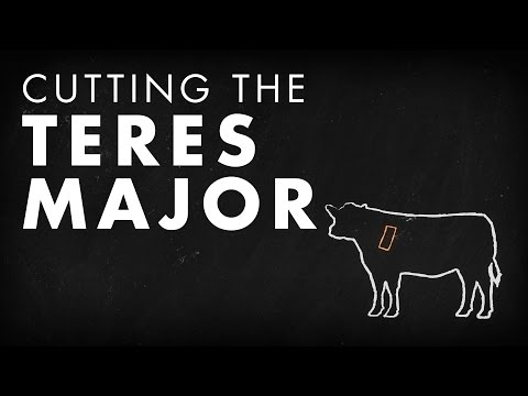 Beef Butchery - Cutting the Teres Major