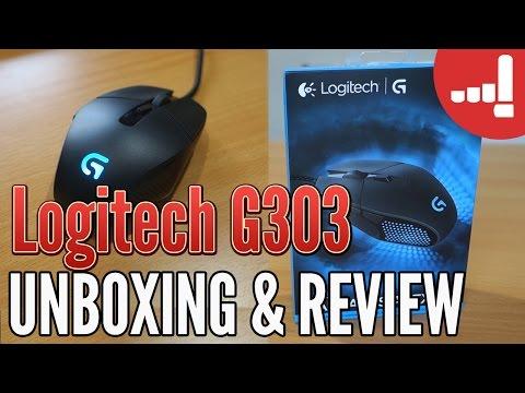 Logitech G303 Daedalus Apex Review dan Unboxing