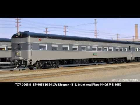 Southern Pacific Cascade - 1950 by The Coach Yard