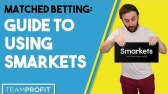 Using Smarkets When Matched Betting