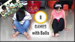 Party Games | 8 Fun and easy Party games with balls | Ball Games | Party games for kids and adults