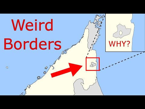 Weird Borders: Middle East